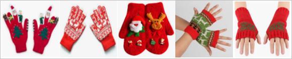 圣诞节手套选品