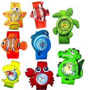 可爱卡通儿童手表出口电商平台