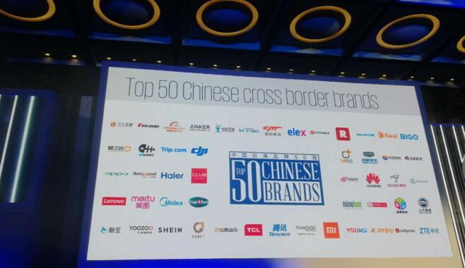 Facebook发布2018中国出海品牌50强