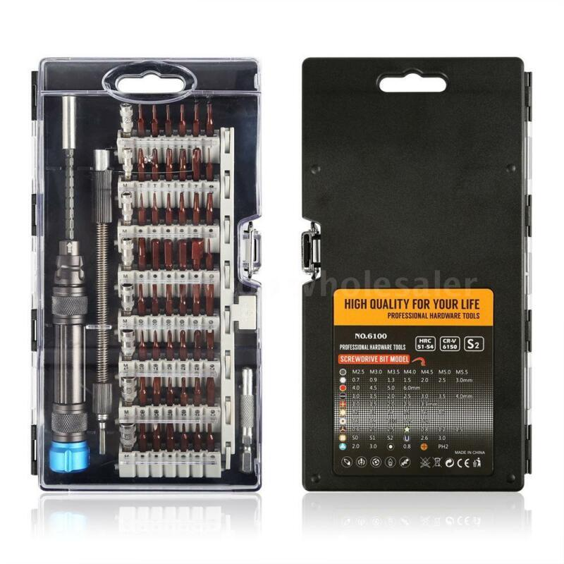 60 in 1 Precision Screwdriver Set Hardware Electronics Repair Hand Tools C3O5