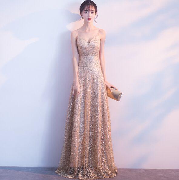 Spaghetti Lace Prom Dresses