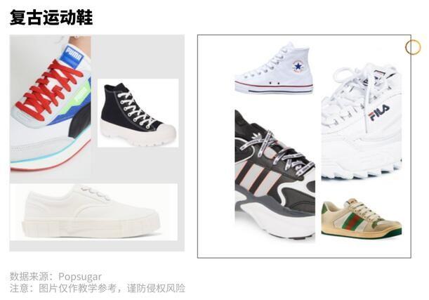 复古风运动鞋