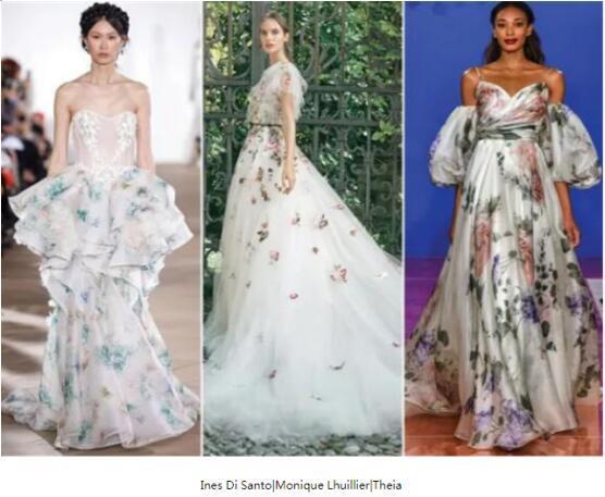 2021年婚纱流行趋势