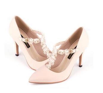 T字鞋面单鞋