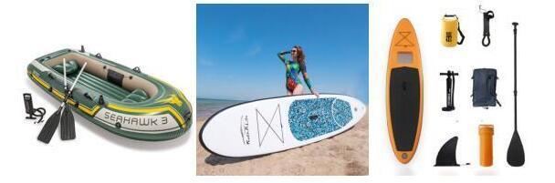 冲浪板、充气船及其配件
