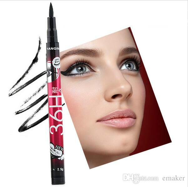 New 36H Waterproof Liquid Black Eyeliner Pencil Skid Resistant Eye liner Pen For Cosmetic Makeup Home Use Quality Fast Shippment