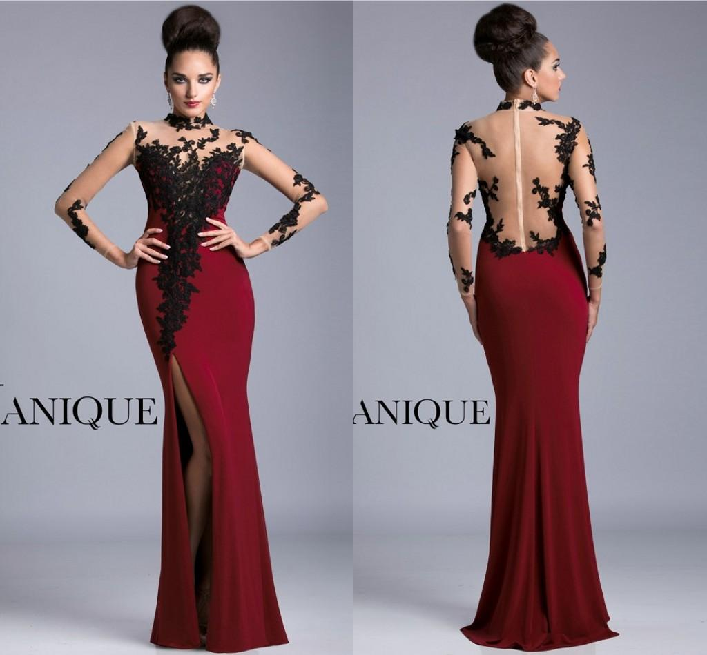 Pictures of Long Prom Dresses Long Sleeve Prom Dresses