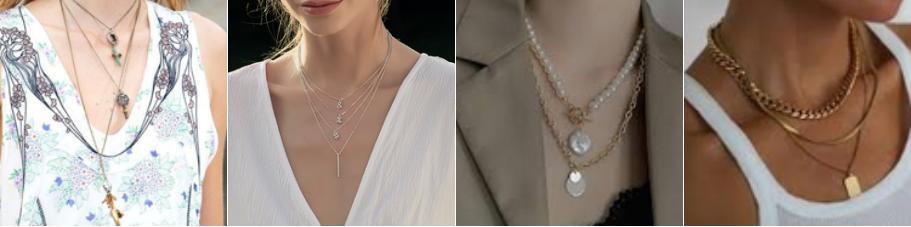 分层叠戴款型珠宝