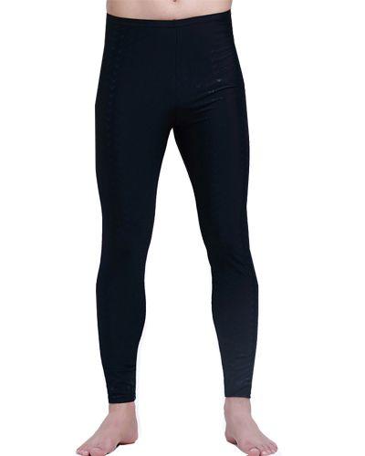 Wholesale-Men Diving Surf Long Fitness Swimwear Snorkeling Jellyfish Anti Ultraviolet Lycra Aerobic Swimming Pants-Free Shipping