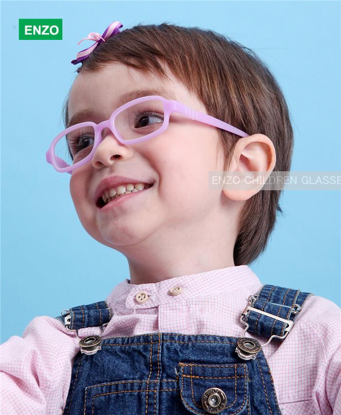 Großhandel Flexible Kids Brillen Rahmen Größe 45/16 Keine Schraube ...