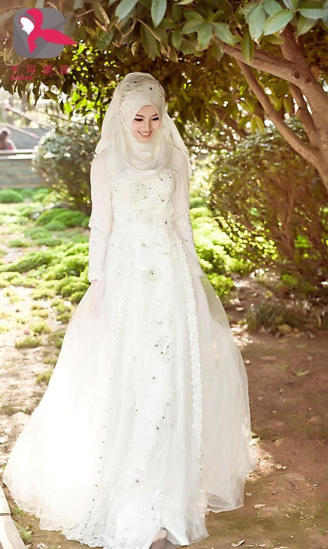 Исламские свадебные платья в махачкале