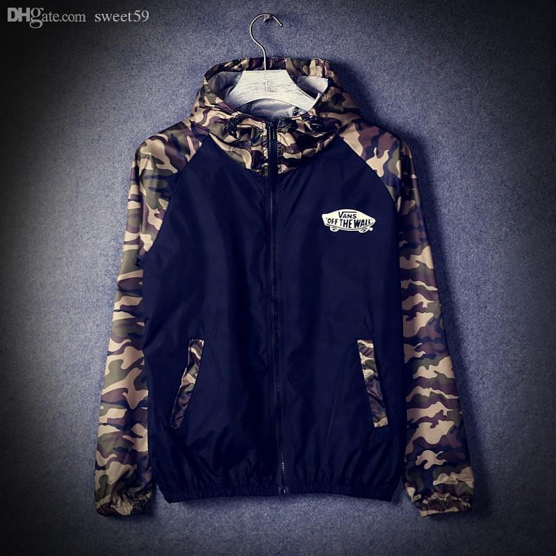 Fall-Military Jacket Trench Coat Jackets Men Camo Camouflage Windbreaker Casaco Masculino Moletom masculina Jaqueta
