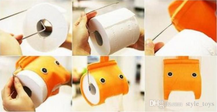 Как сделать держатели для бумаги