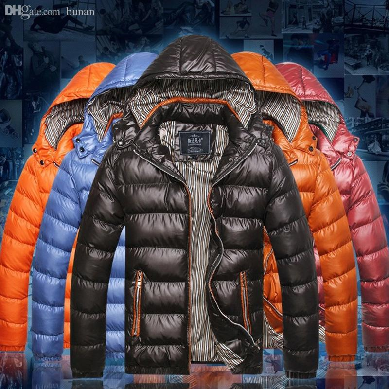 Fall-New Clothing Winter Jacket Men Outdoor Sport Hooded Parka Waterproof Down Coat Outerwear 22