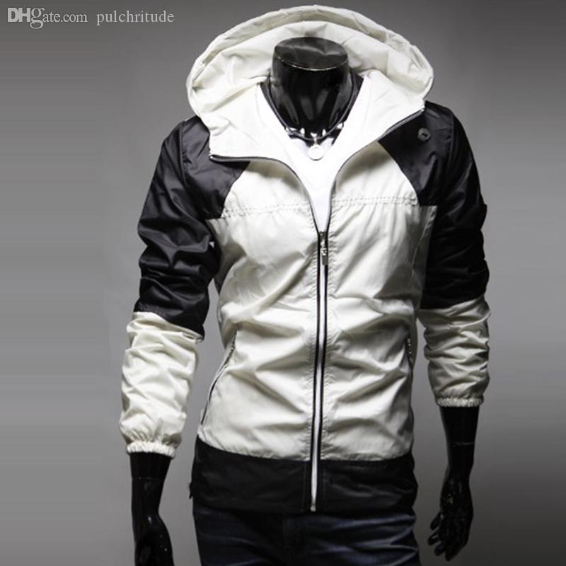 Fall-Winter/Autumn Men's Cotton-Padded Coat,Quality Men's Hooded Thick Thmeral Men's Jacket
