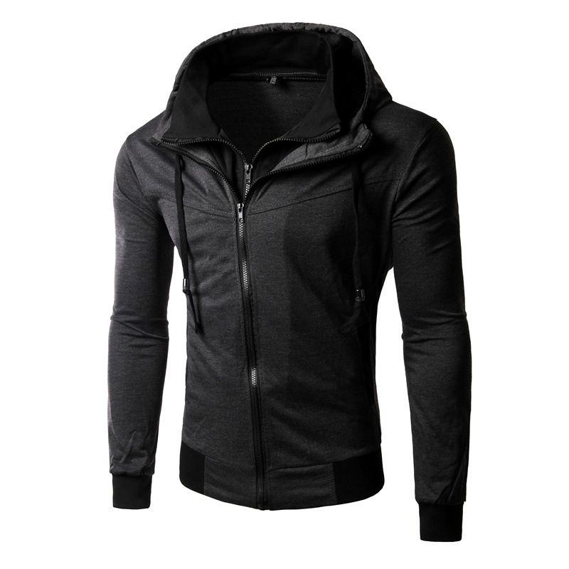Wholesale-2016 New Arrival famous brand mens hoodies moleton masculino hoody men sudaderas hombre tracksuit zippers Mens Jacket Coats