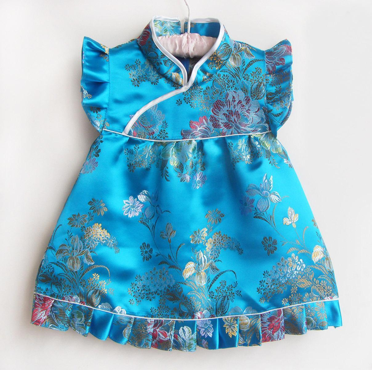 Сшить платье девочки 5