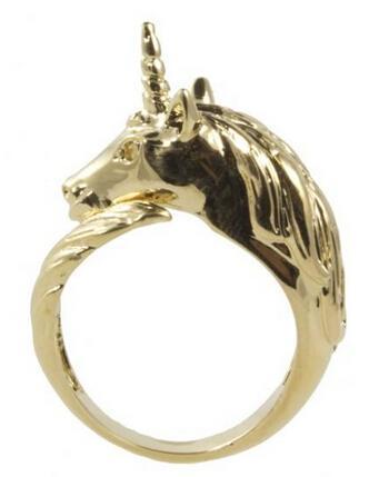 独角兽戒指