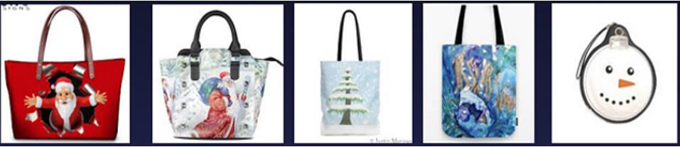 圣诞主题背包外贸热销品