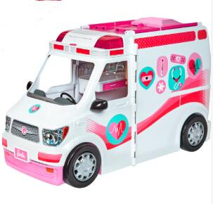 芭比职业护理诊所救护车