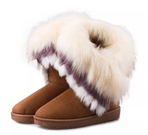Winter Women's Ankle Snow Boots
