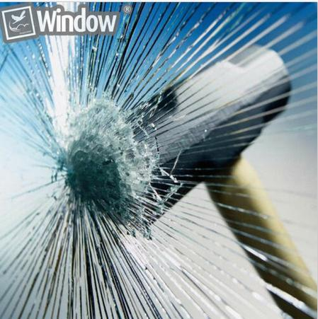 8Mil(0.2mm) Safety Window Film Explosion-proof membrane Security Glass Stick 10m