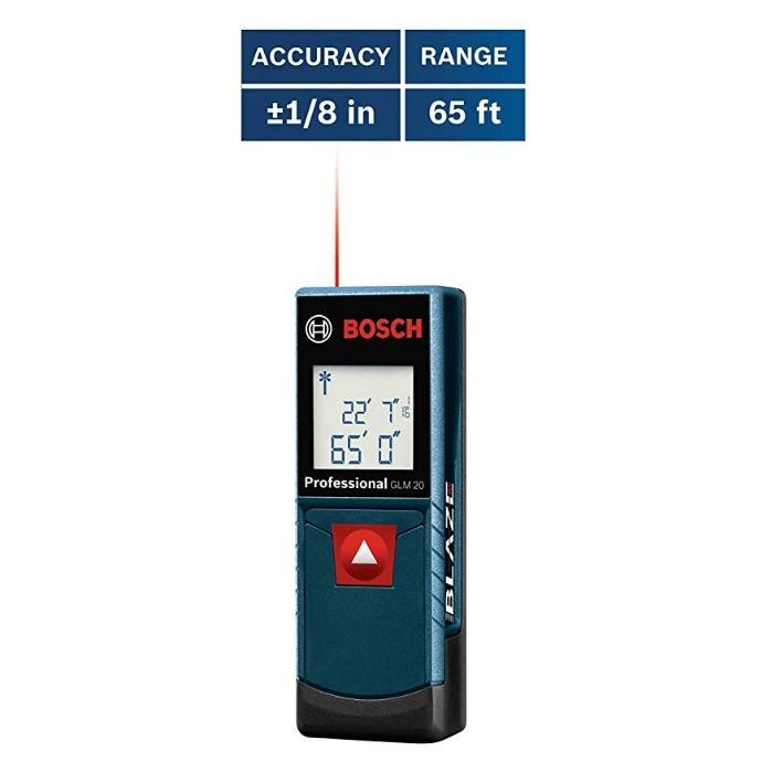 GLM 20 Compact Blaze 65' Laser Distance Measure