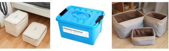 收纳用品:收纳盒(almacenamiento)