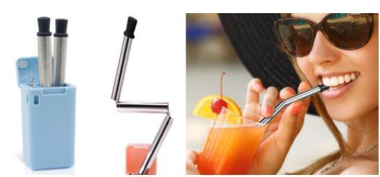 """可折叠的吸管""""final straw"""""""