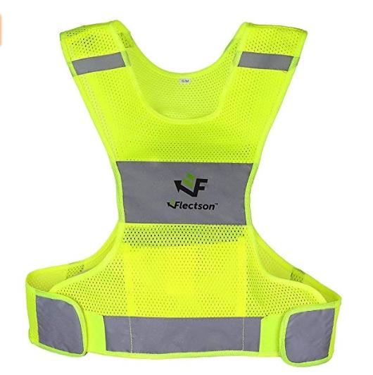 Reflective Vest for Running or Cycling ( Gear for Jogging, Biking, Motorcycle, Walking)