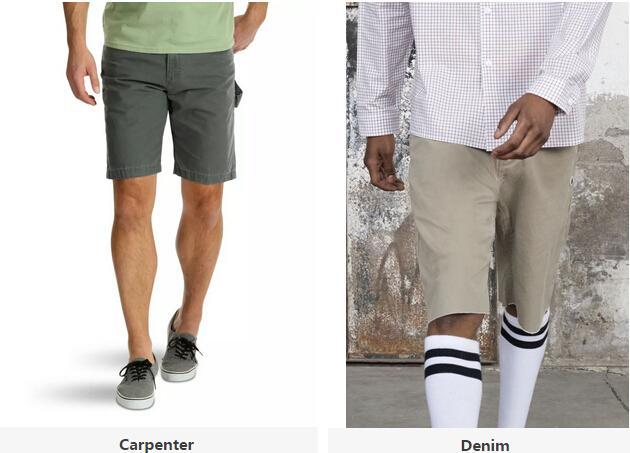 男装短裤出口