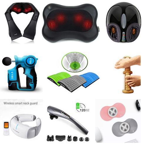 足部按摩,背部,眼部和全身便携按摩产品