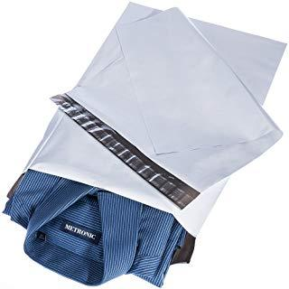 White Poly Mailer Envelopes Shipping Bags with Self Adhesive