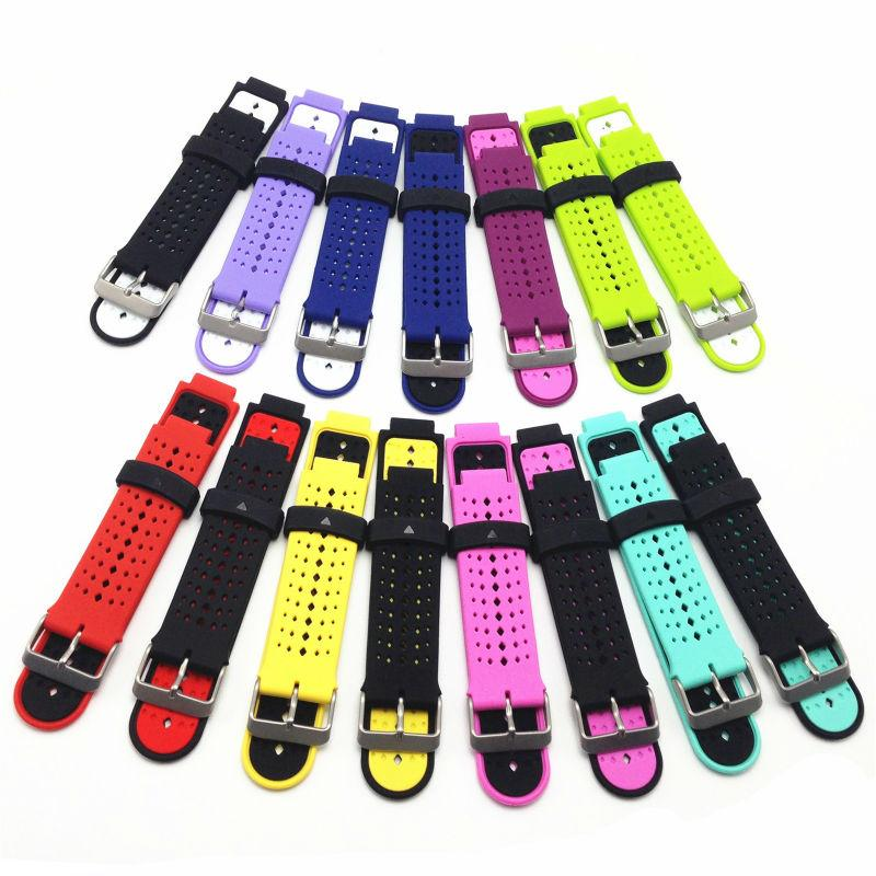 Silicone Watch Wrist Band Strap for Garmin Forerunner 235 630 230
