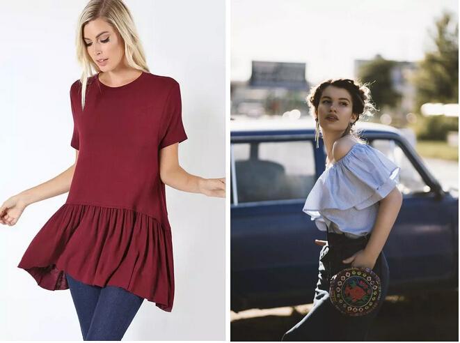 2019年欧美春夏时装周都频繁出现的元素-荷叶边