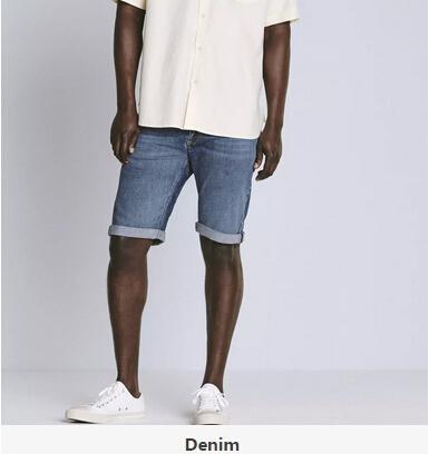 男士牛仔短裤