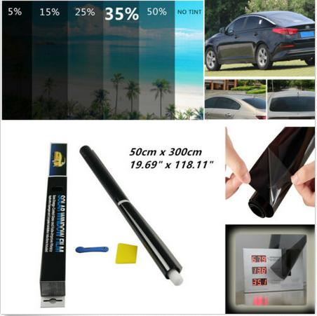 35% Car Window Tint Solar Film Glass Explosion Proof Heat Insulation Membrane UV