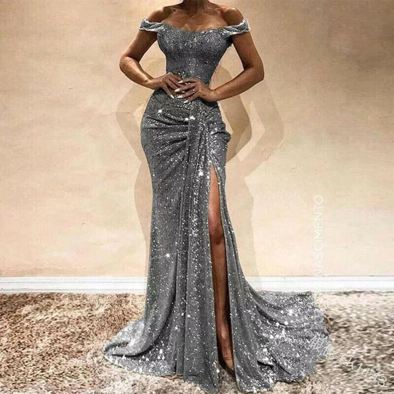Long Mermaid Evening Party Dress Cocktail Prom Gowns