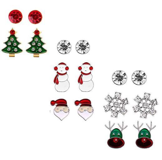 Christmas Stud Earring Set