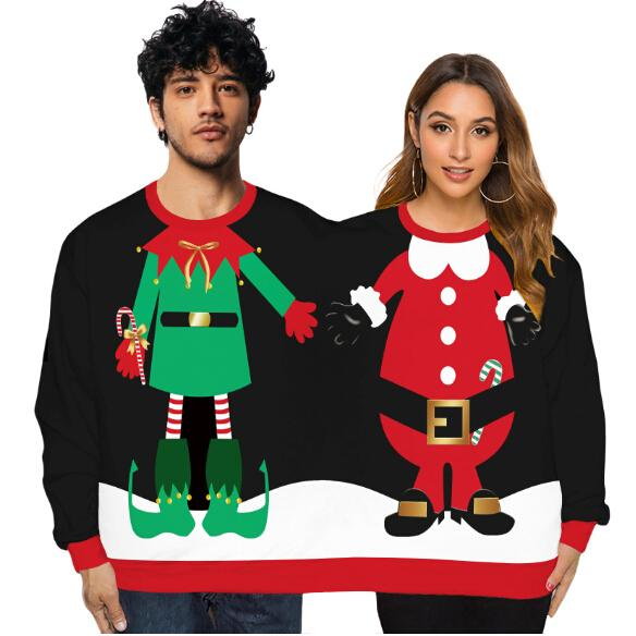 Two Person Christmas Snowman Hoodie