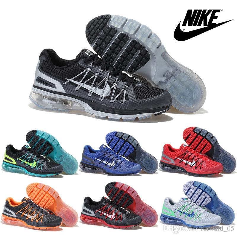 Air Max Excellerate 3 Mens Chaussures De Course Bleues