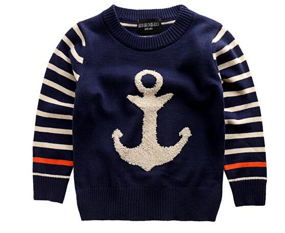 wholesale hot selling children sweater anchor pattern. Black Bedroom Furniture Sets. Home Design Ideas