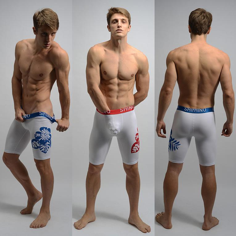 2017 Men Sexy Tight Underwear Boxers Underpants Fashion With ...
