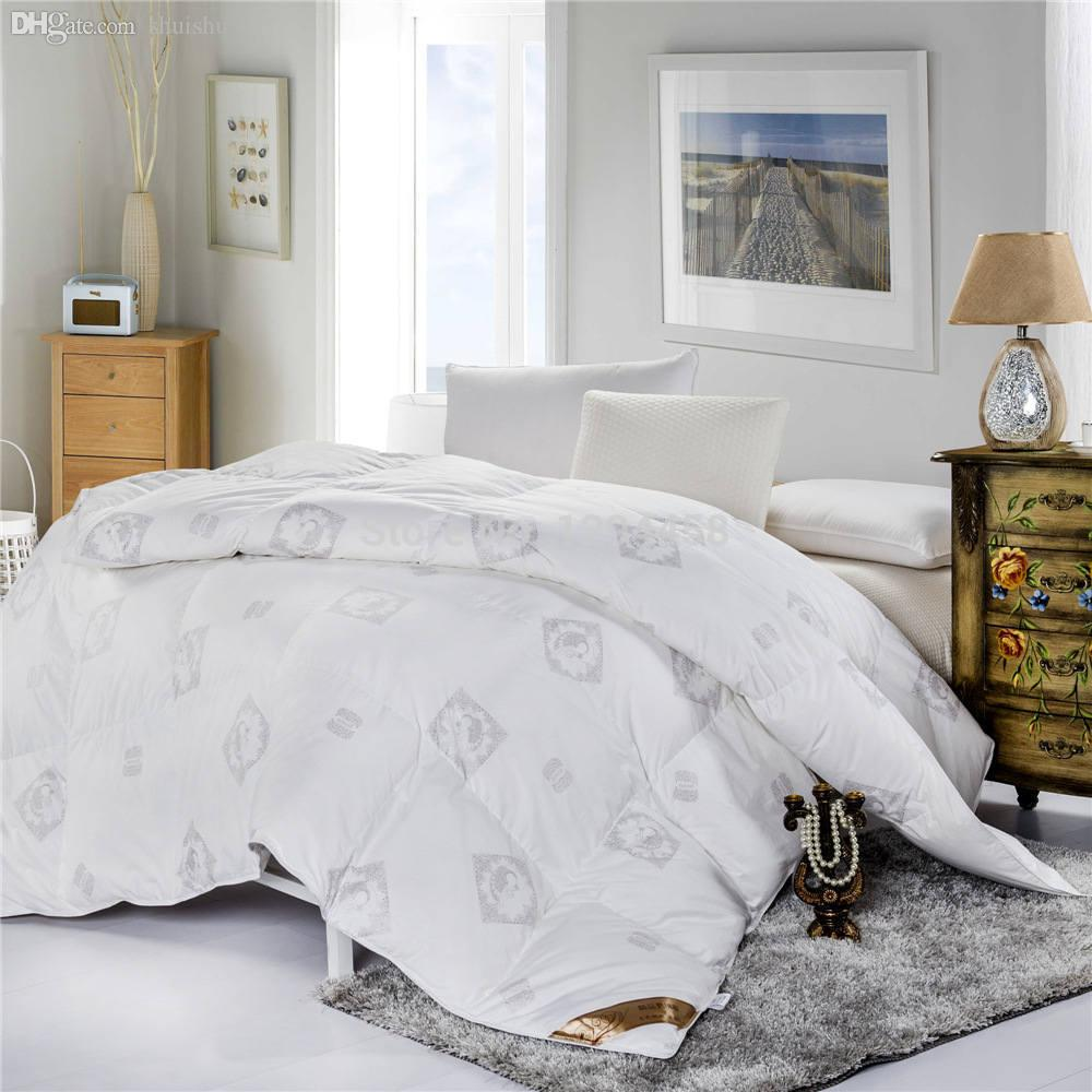 2017 Wholesale New Winter Bed Quilt Duvet Quilts Single
