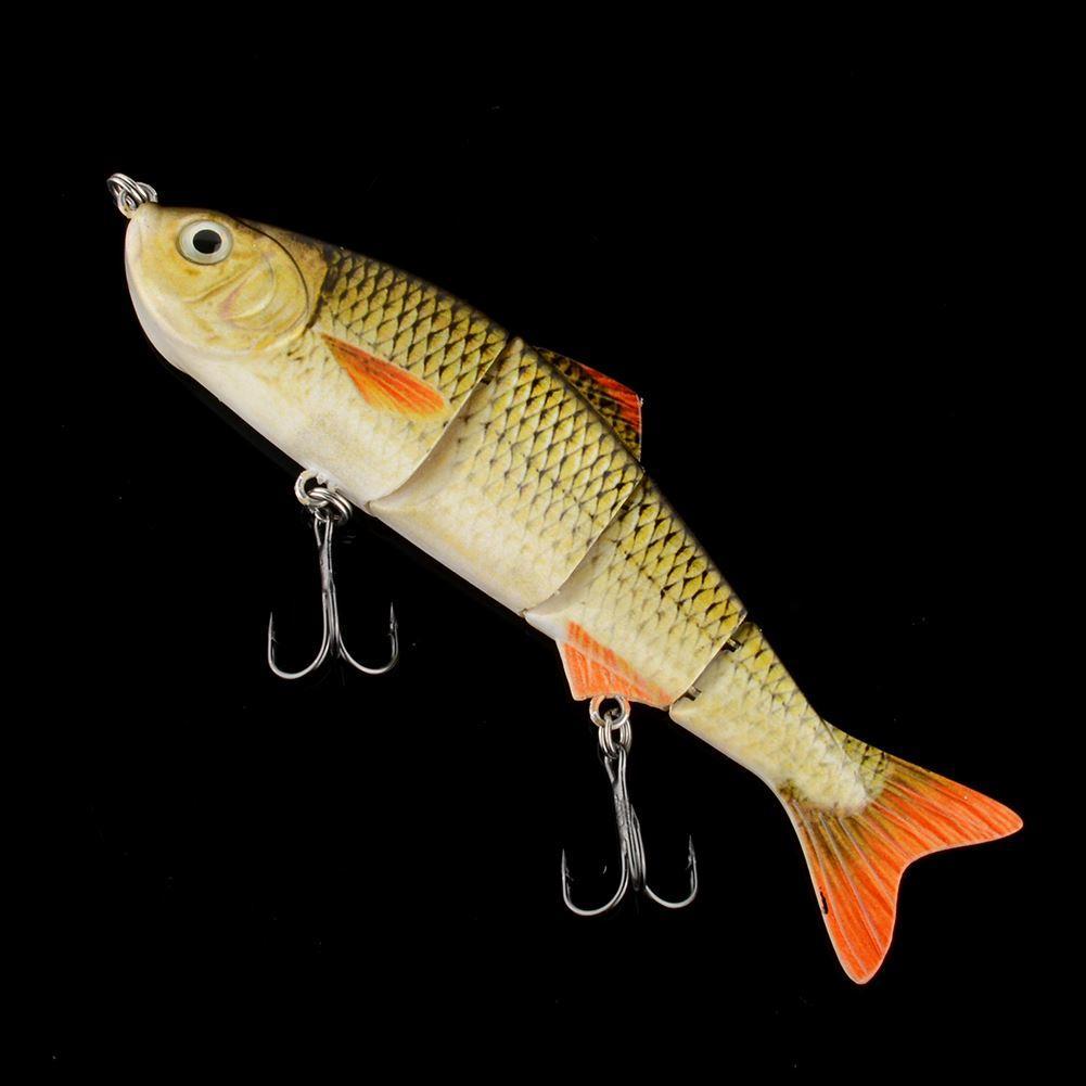 4.8 4 jointed fishing hard lure bait swimbait crankbait life like, Hard Baits