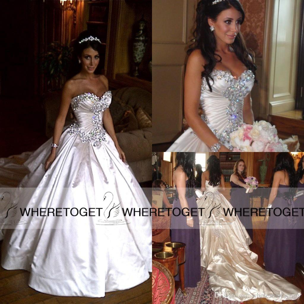 Pnina Tornai Wedding Dresses 2015 Ball Gown Sweetheart