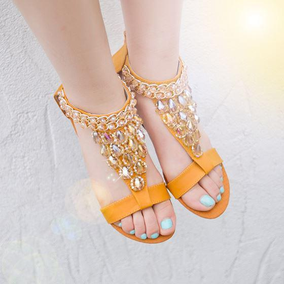 Model 2013 New Strap Sandals Summer Sandals Flat Small Wedges Female Open