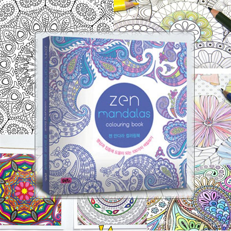 The Ebook Secret Garden Books Sell Like Hot Cakes Mandala Treasure Hunt Adult Stress Kill Time Graffiti Coloring 00894