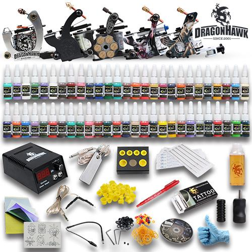 High quality tattoo starter kits tattoo machine guns inks for Best tattoo starter kit