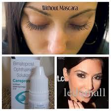 Marke Careprost-Augentropfen Bimatoprost generische Version Latisse OVP Authentic Wimper-Wachstumflüssigkeit Stirn Grower längere Wimpern
